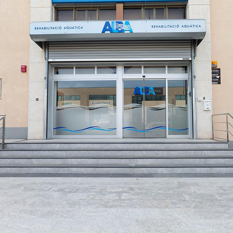 ALBA facilities entrance