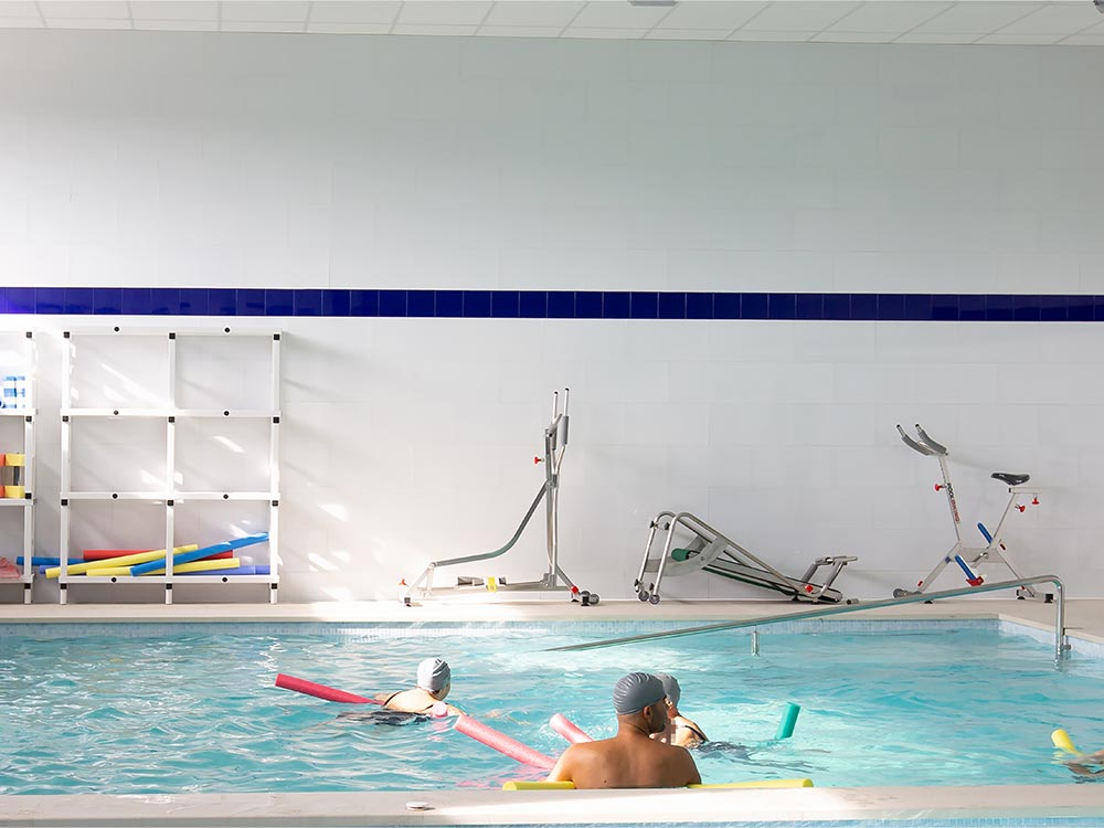 ALBA facilities swimming pool