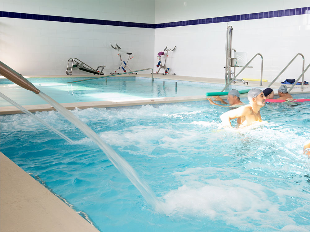 Alba Aquatic rehabilitation facilities